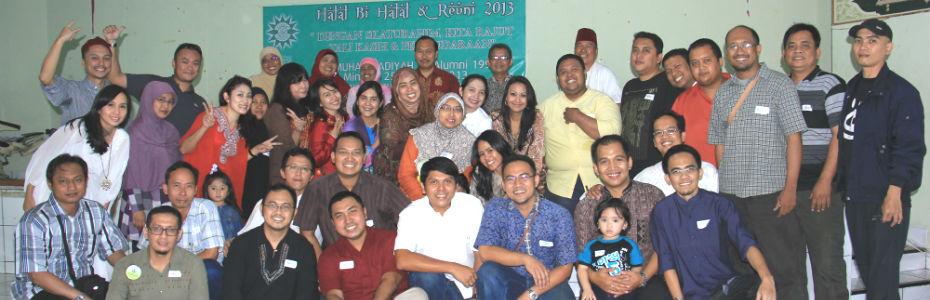 Halal bi Halal dan Reuni Angkatan 91 SD Muhammadiyah 24 Jakarta 2013