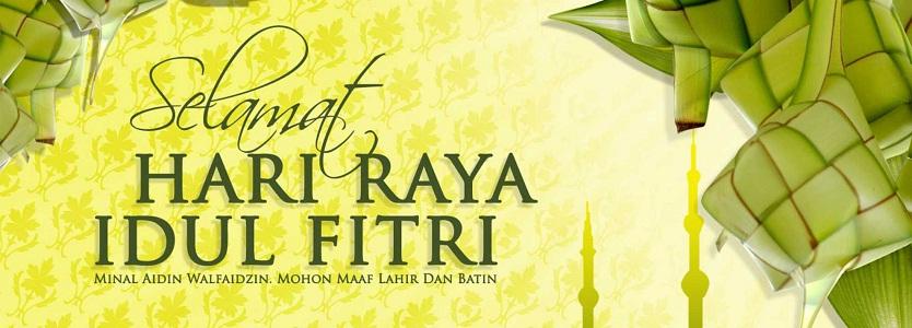 Ucapan Selamat Hari Raya Idul Fitri 1434 Hijriah